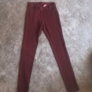 Rust colored Jeggings